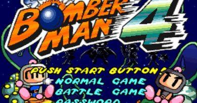 Game Café   Super Bomberman 4